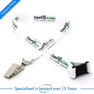 Customized Printed Polyester Neck Lanyard with Clip pictures & photos