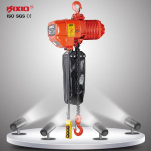 3 Phase 380V 50Hz Electric Chain Hoist with Trolley Lifting pictures & photos