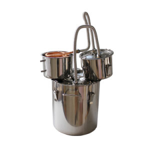 18L/5gal Alcohol Distiller Moonshine Still Stainless Steel Essential Oil Distillation pictures & photos