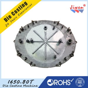 ISO Certification Aluminium Alloy Die Casting Cover Plate pictures & photos