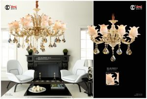 Antique Die Casting Zinc Alloy Chandelier Light pictures & photos