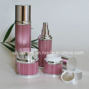 New Pink Acrylic Cream Jar Lotion Bottle for Cosmetics (PPC-NEW-104) pictures & photos
