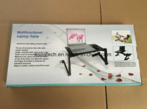 Mini Portable Aluminium Folding Sofa Laptop Table pictures & photos