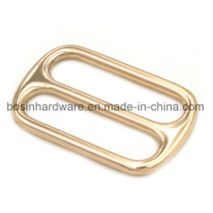Gold 1 1/2 Inch Zinc Alloy Metal Slider Buckle pictures & photos