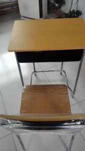 Hot Sale Good Quality Desk and Chair for School pictures & photos