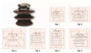 Porcelain Pin Insulator for 11kv pictures & photos