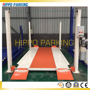4 Posy Two Layer Parking Lift, Simple Car Parking Lift pictures & photos