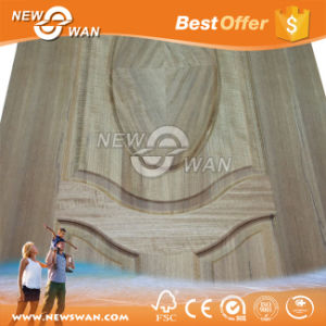 Walnut HDF / MDF Moulded Veneer Door Skin pictures & photos