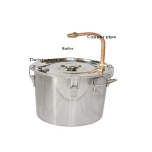 Kingsunshine 18L/5gal Red Copper Lyne Arm Distillation Equipment, Household Alcohol/Water Distiller pictures & photos