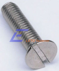DIN963-Slotted Countersunk Head Screws
