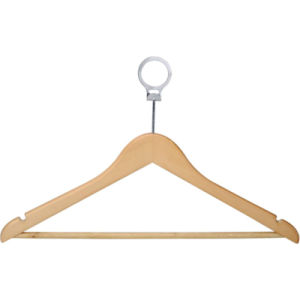 Round Head Male Hanger with Silver Security Ring pictures & photos