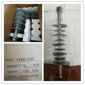 Polymer Insulator 15kv 70kn, Hv Transmission Line on Tower pictures & photos