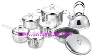 14PCS Cookware Set with Ss Wire Handle pictures & photos