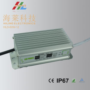 LED Driver Waterprof 60W 12V pictures & photos