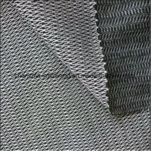 Warp Knitted Weft Insert Napping Brushing Fabric Woven Interlining Double-Combed pictures & photos