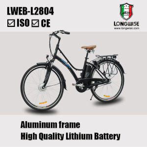 Lithium Battery City Electric Bike (LWEB-L2804) pictures & photos