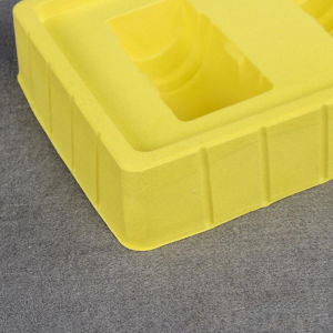 PVC Yellow Medical Bottle Blister Tray pictures & photos
