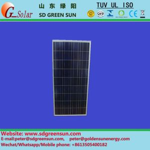 18V 140W-150W Poly Solar Cell Panel pictures & photos