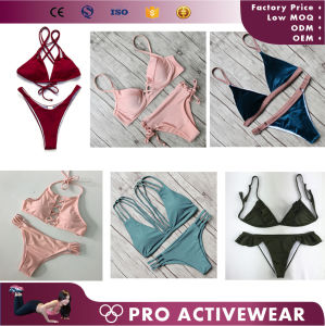 Sexy Bikinis Swimwear OEM Custom Service Wholesale Women Swimsuits pictures & photos