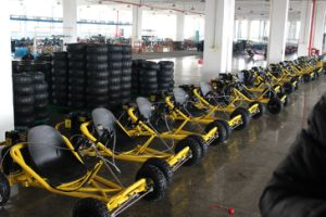 Two Seat Go Kart From Mademoto Brand with 300cc Water Cooling pictures & photos