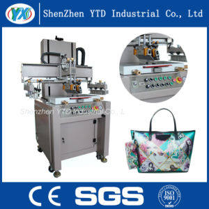 Automatic Flat Bed Screen Printing Machine Plastic Film/Leather Clothing pictures & photos