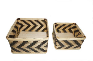 Handmade and Weaving Bamboo Tray pictures & photos