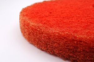 Nylon Sponge Scouring Pad Colorful Red Black Floor Pad pictures & photos