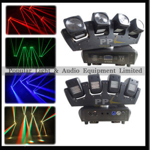 RGBW 4in1 Fullcolor 4heads LED Moving Head Beam Bar Light pictures & photos