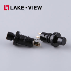 SGS Lead Free Electronical Miniature Round Push Button Switch pictures & photos