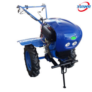 China Engine Gasoline and Diesel Power Tiller/Mini Walking Tractor/Ditcher for Sale pictures & photos