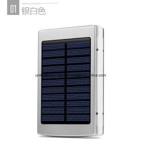 13000 Universal Mobile Phone Smart Mobile Power Solar Power Bank pictures & photos