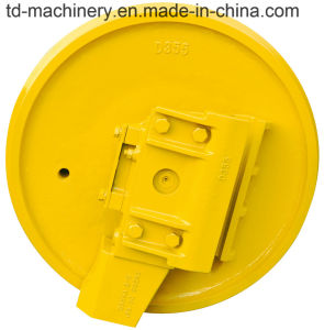 Fh200 Fh200-3 Fh220 Excavator Chassis Parts Wholesale China or Bulldozer Front Idler Track Mechanism Parts pictures & photos