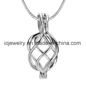 Custom Cage Pendant 925 Sterling Silver Pearl Cage pictures & photos