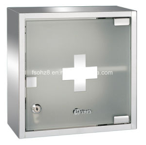 Stainless Steel Furniture Bathroom Medicine Cabinet with Mirror (7036) pictures & photos