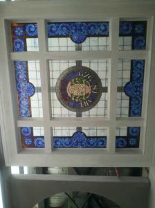 Outside Ornate Decoration Feature Styles Stained Glass Panels Ceiling pictures & photos