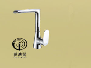 Brass New Design Single Handle Wall-Mounted Kitchen Faucet 70078-1 pictures & photos