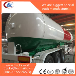 Design New Logo LPG Semi Trailer Mounted Gas Tanker Price List pictures & photos