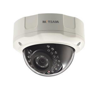 Dome Type IP Camera with 30m IR Distance CCTV Camera 720p 1.0MP with Ce FCC RoHS pictures & photos