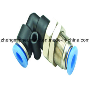 Pneumatic Air Fitting Branch Tee for PU&PA Hose (Metric Size-R(PT) Thread Type) pictures & photos