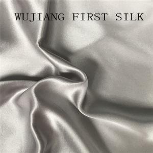Silk Cotton Mixed Satin Fabric pictures & photos