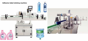 Automatic Round Square Bottle Barre Labeller Adhesive Label Sticker Labeling Machine pictures & photos