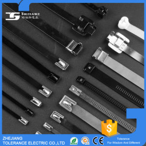 UL 94V-2 Metal PVC Coated Stainless Steel Cable Tie