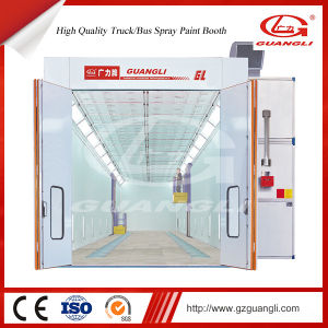 China Guangli Manufacturer Worldwide Diesel Heating System Auto Paint Dry Room for Sale pictures & photos