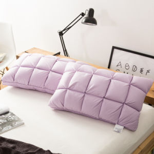 Hot Selling White Duck Down Pillow Traditional Bread Pillow for Home and Hotel pictures & photos
