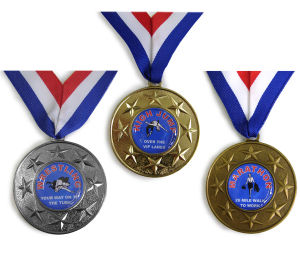 OEM Metal Medallions with Customer 3D Logo Engraving pictures & photos