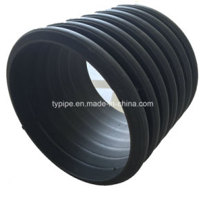 Good Price HDPE Double-Wall Corrugated Pipe for Drainage and Sewage From China pictures & photos