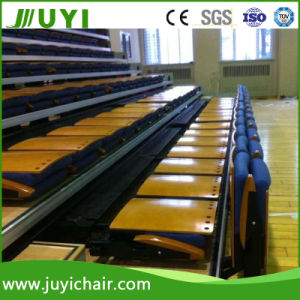 Fabric Bleacher Cushion Retractable Bleachers Telescopic Seating System Jy-780 pictures & photos