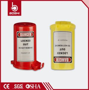 Rugged Polystryrene Plastic Gas Cylinder Lockout pictures & photos