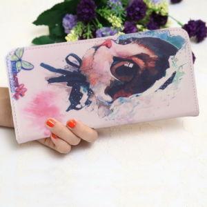 Purse Female Korean Cartoon Wallet Wallet Zipper Long Women Students pictures & photos