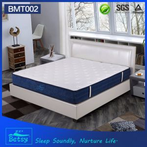 OEM Resilient Spring Mattress 26cm High with Relaxing Pocket Spring and Massage Wave Foam Layer pictures & photos